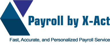 Logo, Payroll by X-Act, Small Businesses in Sunnyvale, CA
